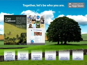 Together, let's be who you are is on Ipad !!