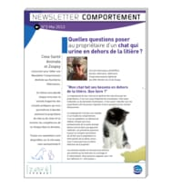 Newsletter comportement n°3 - mai 2013
