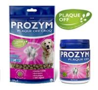 La solution PROZYM Plaque Off convient aux chat et aux chiens pour entretenir leur hygiène dentaire