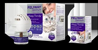 FELIWAY Optimum renforce la sérénité des chats