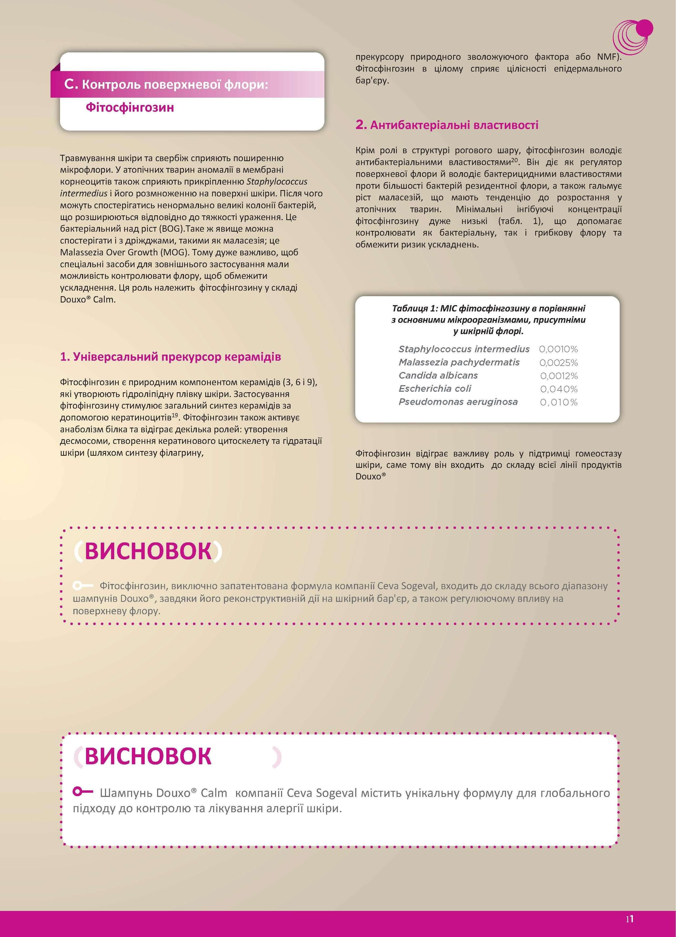 Douxo® Calm  Глобальний підхід до лікування алергічних захворювань ... 47702e26b1c74